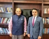 Ambassador Haidari Appreciates India's Development Aid to Afghanistan at the IDSA