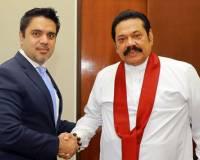 Ambassador Haidari Calls on H.E. Former President Mahindra Rajapaksa to Discuss Growing Bilateral Relations