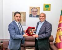 Ambassador Haidari Calls on Sri Lanka Muslim Congress Leader