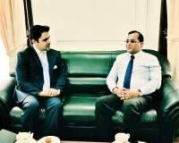 Ambassador Haidari Meets Chief of Staff to President of Sri Lanka Udaya Seneviratne to Discuss the Implementation of Bilateral Agreements
