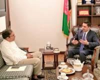 SAARC Secretary General-Designate Calls on Ambassador Haidari to Discuss Regional Cooperation
