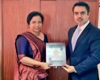 Ambassador Haidari and New South Asia Director-General Ambassador Ranaraja Meet to Discuss Bilateral Relations