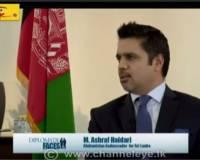 Ambassador Haidari Interviews with the Diplomatic Faces to Discuss Afghanistan-Sri Lanka Relations