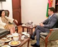 Ambassador Haidari Receives Courtesy Call from New Turkish Counterpart Ambassador Sekercioglu
