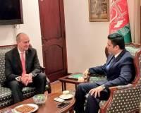 Shangri-La Group Vice President Wright Calls on Ambassador Haidari