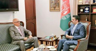 Swiss Ambassador Furgler Calls on Ambassador Haidari, Discusses Issues of Mutual Interest