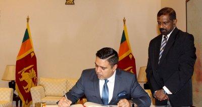 In National Day Message, Ambassador Haidari Praises Sri Lanka's Post-Independence Progress