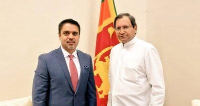 Ambassador Haidari Calls on Foreign Secretary Aryasinha to Discuss Implementation Status of Bilateral Agreements