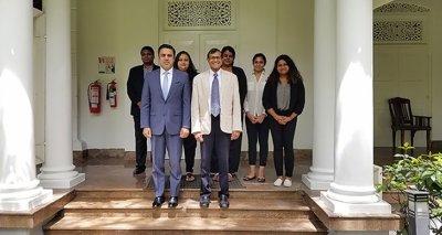 Ambassador Haidari Discusses Afghanistan-Sri Lanka Relations at the Lakshman Kadirgamar Institute