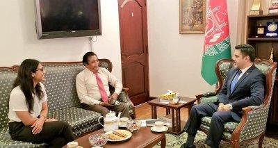 Ambassador Haidari Meets Value Group Executive on Ceylon Tea Export to Afghanistan