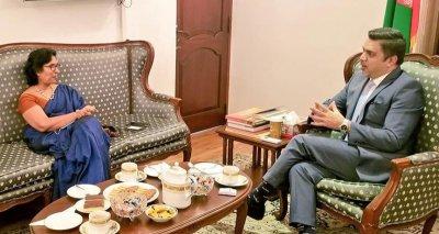"""Cultural Cooperation Can Reduce Interstate Tensions in South Asia,"" Ambassador Haidari Tells SAARC Cultural Center Director"