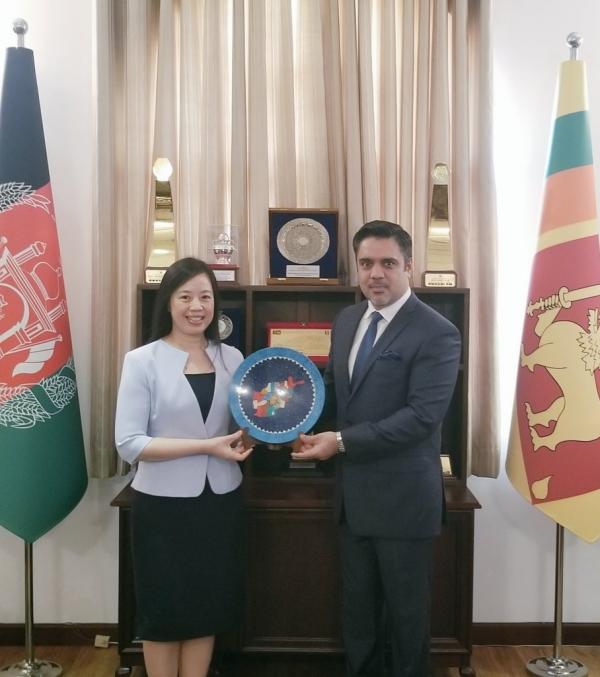 Vietnam-Afghanistan Relations: Ambassador Pham Calls on Ambassador Haidari