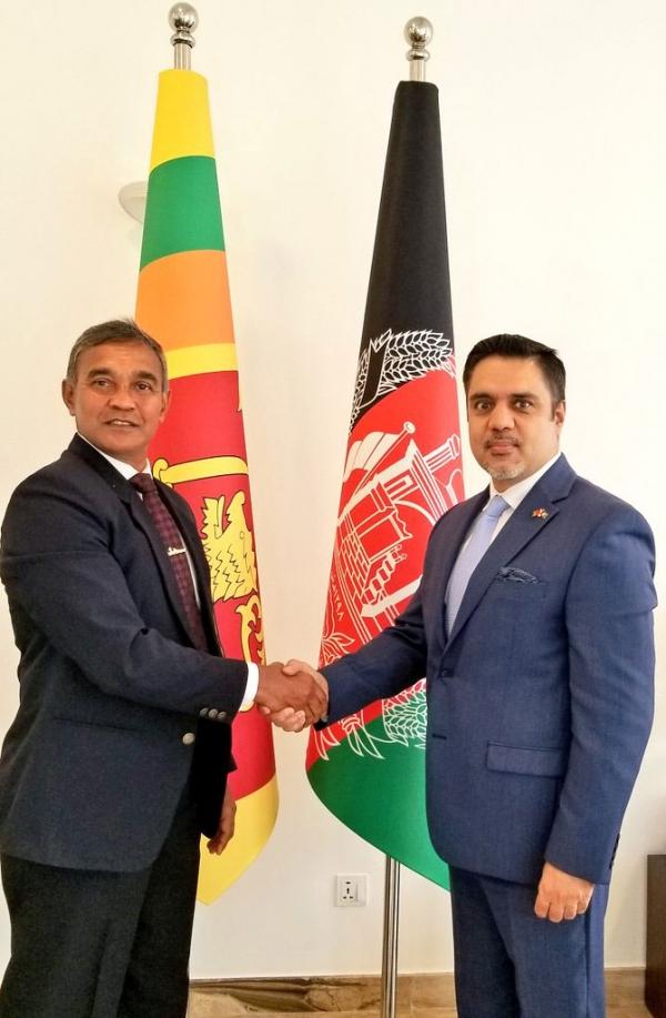 Ambassador-Designate of Sri Lanka to Afghanistan Calls on Ambassador Haidari